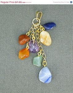 10% off Valentines Day Multi-Stone Chakra by jewelersparadise