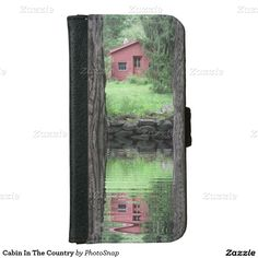 Cabin In The Country Wallet Phone Case For iPhone 6/6S