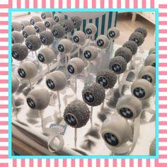 BMW #cakepops by #sandybel #bmw #nürnberg #fürth