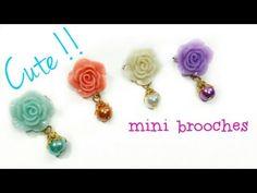 Mini Brooch Tutorial - YouTube