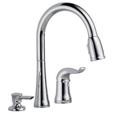 Delta Kate Series Pulldown Kitchen Faucet in Stainless - Ace Hardware