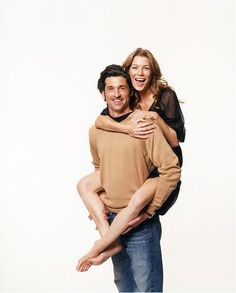 ellen pompeo and patrick dempsey photo shoot - Google Search