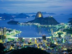 Rio de Janeiro, Brazil   I want to see this beautiful place for myself.