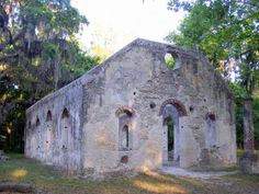 Chapel of Ease on St Helena Island. It came to an end as a church on 11/28/1861 when the US Navy invaded Port Royal and the Sea Islands became Dept of the South United States of America.
