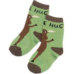 Moose Hug Infant Socks