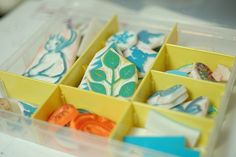 Seriously charming blog...and great hand-made stamp tutorial.