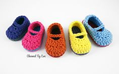 Free Pattern: Sweet Baby Mary Janes
