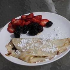 Egg-White Crepes