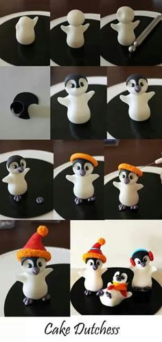 Penguins by Cake Dutchess