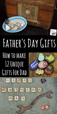 Let Dad know how special he is by making him one of these DIY Father's Day Gifts! Great project for you as well as gifts from kids all in one pin! Diy Father's Day Gifts From Baby, Unique Gifts For Dad, Homemade Fathers Day Gifts, Homemade Anniversary Gifts, Anniversary Gifts For Him, Homemade Gifts, Gifts For Kids, Fathers Gifts, Daddy Gifts