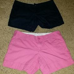 Lilly Pulitzer Shorts The Callahan Short  Pink and Navy Size 6 My favorite shirts, sadly they are too small :( Lilly Pulitzer Shorts
