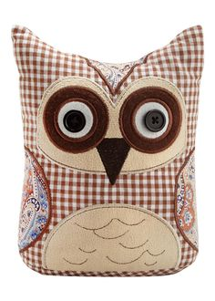 Owl Doorstop (I'd like to have a go at making something like this) - Matalan