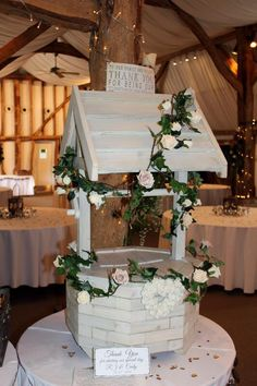 Make It Special Events Lovely hand crafted wooden wishing well ...