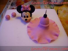 fondant minnie mouse face 18 minnie mouse