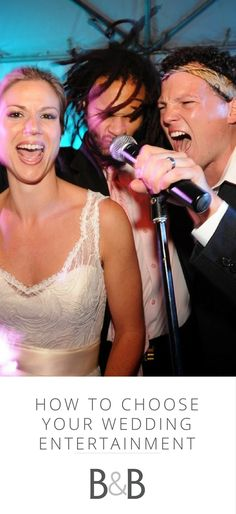 How to choose your wedding entertainment, see more on borrowedandblue.com!