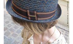 #Stetson #chapeau femme Garrison raffia bleu #hat #soldes #onsale