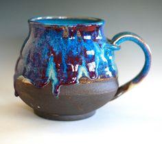 Extra Extra Large Coffee Mug, 40 oz, handmade ceramic cup, coffee cup. $45.00, via Etsy.