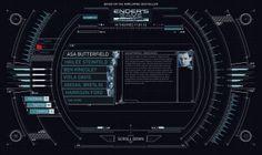 ENDER'S GAME User Interface - Gareth Fowler | Graphic Artist