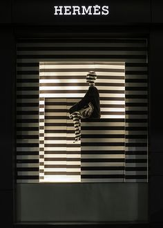 Hermes,Sydney, Australia,B&W stripes, pinned by Ton van der Veer