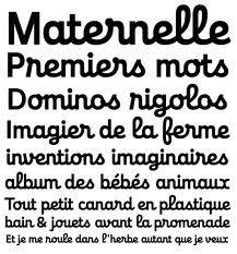 modern french cursive