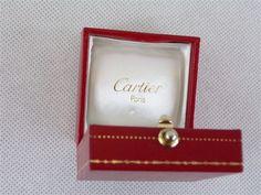 Ecrin bijoux Cartier paris Boite pour bague Grand Joaillier Place Vendome paris signé et numéroté vintage France  vintagefr de la boutique decobrock sur Etsy