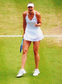 Maria Sharapova in Wimbledon 2015 #WTA #Sharapova #Wimbledon