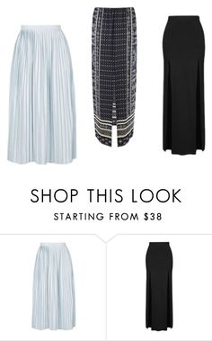 """""""we"""" by nandamfontes ❤ liked on Polyvore featuring Topshop and Warehouse"""