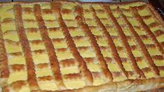 Šťavnatý jablečný koláč s vanilkovým pudinkem a luxusní vláčnou chutí!   Vychytávkov Hungarian Recipes, Apple Pie, Goodies, Food And Drink, Cooking Recipes, Sweets, Bread, Baking, Cake