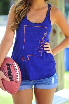 JUDITH MARCH: Auburn Tank... hey, football saturday is a holiday around these parts!!