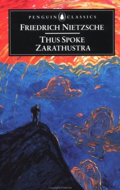 Thus Spoke Zarathustra - Friedrich Nietzsche. I don't like Nietzsche, but the book cover is really cool