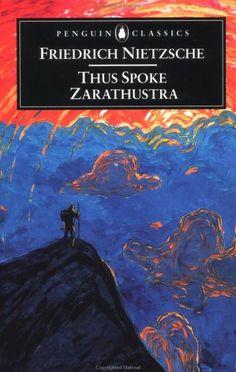 Thus Spoke Zarathustra - Friedrich Nietzsche. I don't like Nietzsche, but the book cover is really cool