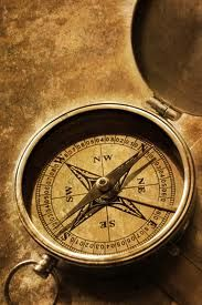 During the time of exploration, compasses started being used in order to help travelers navigate in the ocean better. Above is an older version of a compass voyagers may have used at the time.