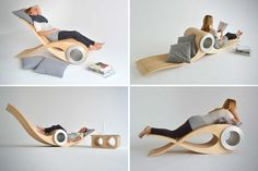 The Intriguing Exocet Chair Concept by Stéphane Leathead