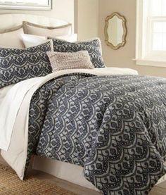 8 Piece Embellished Queen Comforter Set. Steel grey body pieced #designer