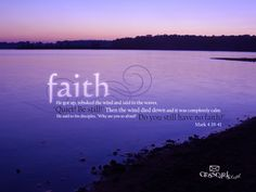Faith - Mark 4:39-41 Desktop Wallpaper - Free Scripture Verses Backgrounds