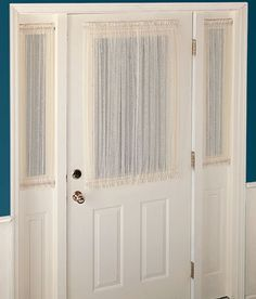 Entry Door Window Treatments Window Treatments Doors Door