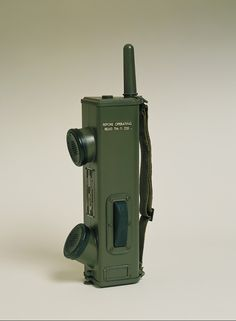 Motorola Handie-Talkie portable two-way radio, model SCR536, circa 1941 In 1940 Galvin Manufacturing Corporation engineers developed the Handie-Talkie SCR536 AM portable two-way radio. This handheld radio became a World War II icon. The Handie-Talkie and other radios Galvin Manufacturing developed for the U.S. military at this time did not carry the Motorola brand.