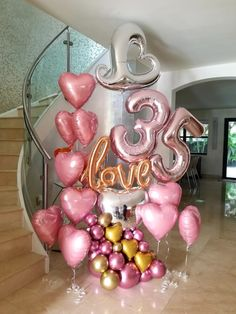 Balloon Decoration Ideas for Birthday Party . 30 New Balloon Decoration Ideas for Birthday Party . Helium Balloons, Baby Shower Balloons, Birthday Balloons, Ballon Decorations, Birthday Party Decorations, Birthday Parties, Deco Ballon, Birthday Ideas For Her, Adult Party Themes