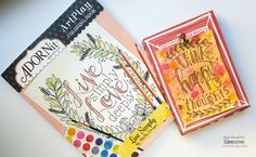 Shimmer everywhere! Rose shares how she uses IZINK acrylic pigment ink + Smooch Spritz for a unique coloring book page: http://blog.clearsnap.com/2016/08/3-technique-coloring-book-page/