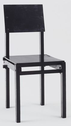 Gerrit Rietveld (Dutch, 1888–1964)                            Military Side Chair,                      Date:1923