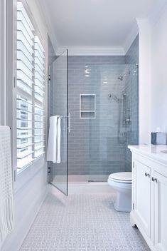 Houzz Bathroom, Upstairs Bathrooms, Bathroom Renos, Bathroom Renovations, Master Bathrooms, Bathroom Ideas, Bathroom Pictures, Small Bathrooms, Washroom