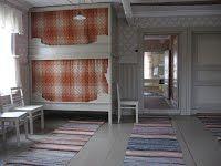 Traditional interior in old farmhouse, South Ostrobothnia county, Finland | Kotiseututalo - Härmä-Seura Decor, Interior, Tupa, Traditional Interior, Bed Nook, Cottage Design, Home Decor, House Interior, Scandinavian Interior
