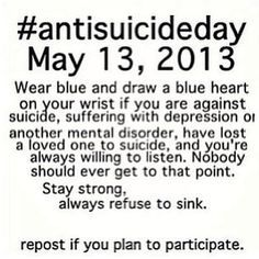 Antisuicide day