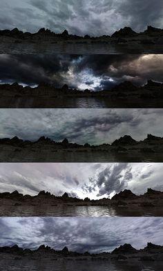 Halo Collection, Winter Mountain, Dusk, Underwater, Sunrise, Urban, Mountains, Night, City