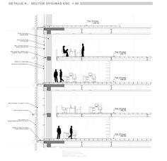 muro cortina detalle constructivo - Buscar con Google