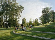 Thorbjörn Andersson with Sweco architects. Sandgrund Park, Karlstad, Sweden.