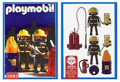 PLAYMOBILE 3883 Fire Fighters 1996