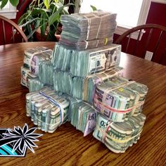 Hand me a stack I'm going out for lunch!!