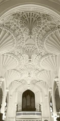 Beautiful church in charleston, south carolina.  I love the ceiling and think a raise and lower beautiful table would work in a small space