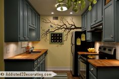 Great kitchen makeover on a budget.